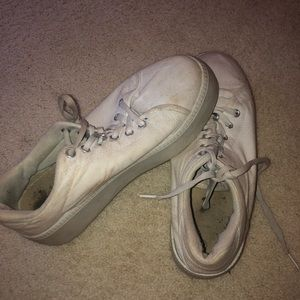 white nasty gal sneakers